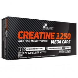 Creatine 1250 Mega Caps, 120 capsule