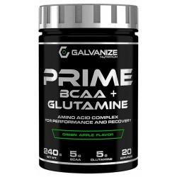Prime BCAA + Glutamine, 240 grame, Galvanize Nutrition