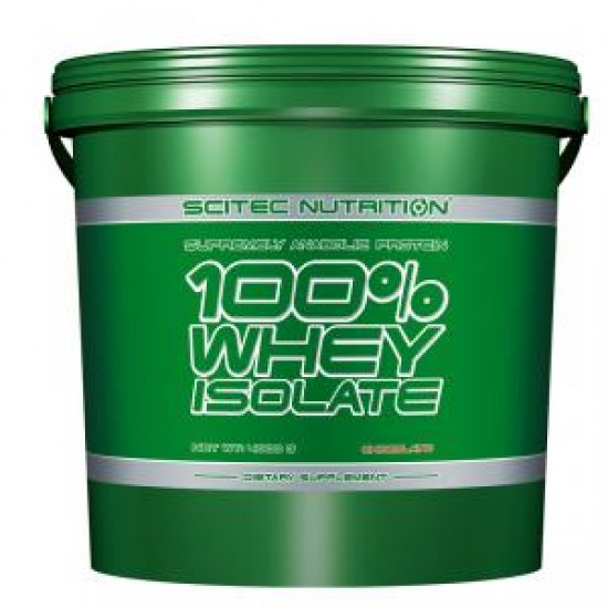100% Whey Isolate, 4000 g, Scitec