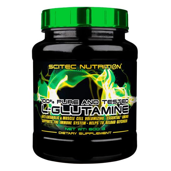 L-Glutamine, 600 g, Scitec