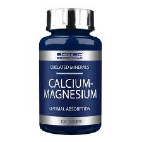 Calcium - Magnesium, 100 tablete