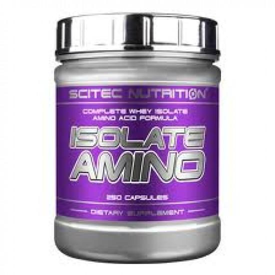 Isolate Amino, 250 capsule, Scitec