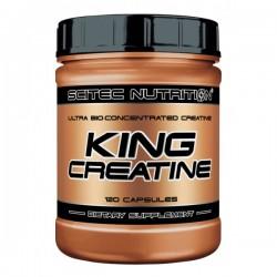 King Creatine, 120 caps, Scitec