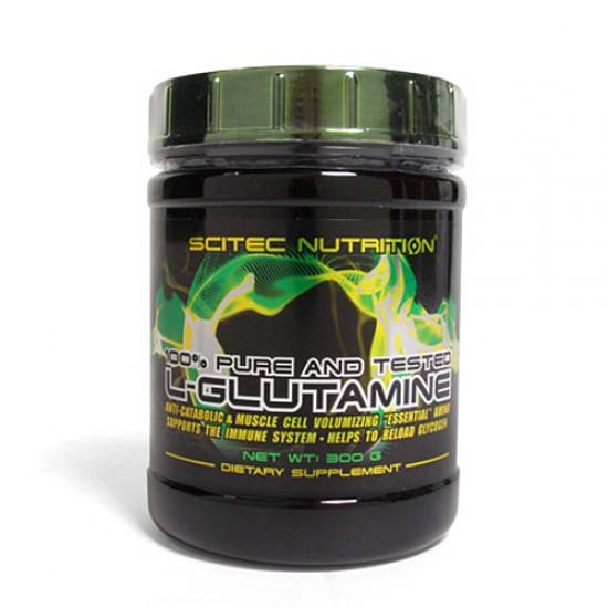 L-Glutamine, 300 g, Scitec