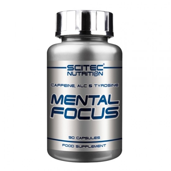Mental Focus, 90 caps, Scitec