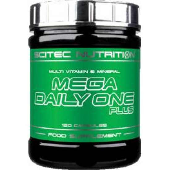 Mega Daily One Plus , 120 capsule, Scitec