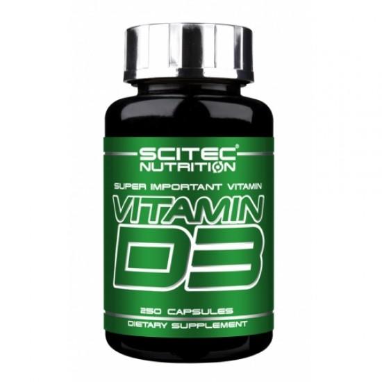 Vitamin D3, 250 capsule
