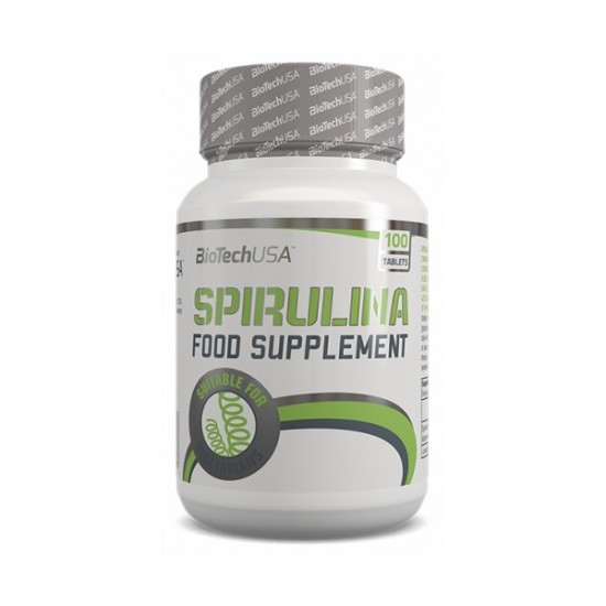 Spirulina, 100 tablete, Biotech