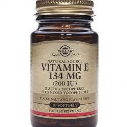 Vitamina E 134 mg (200 IU), 50 caps, SOLGAR