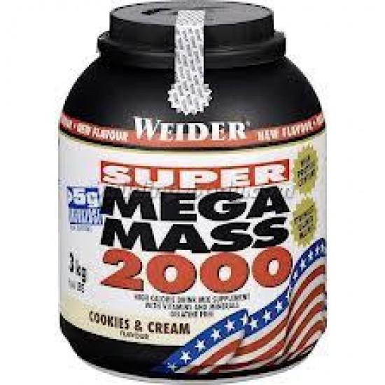 Mega Mass 2000, 3000 g, Weider