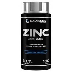 Zinc, 100 tablete, Galvanize Nutrition