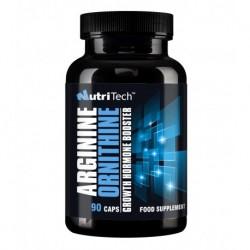 Arginine+Ornithine, 90 caps, Nutritech