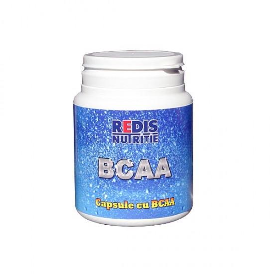 BCAA, 120 capsule, Redis Nutritie