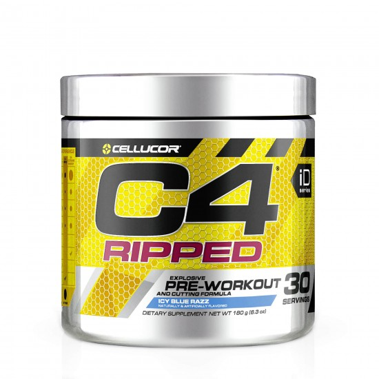 C4 Ripped, 180 g, Cellucor