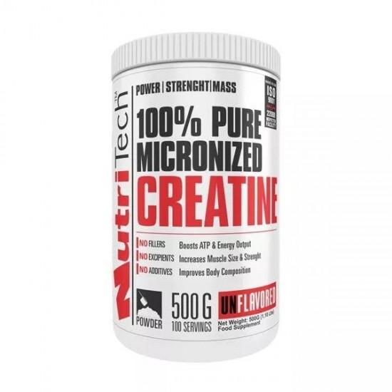 100% Pure Creatine, 500 g,  Nutritech
