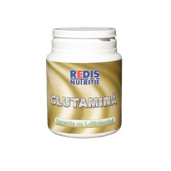 Glutamina, 120 capsule, Redis Nutritie