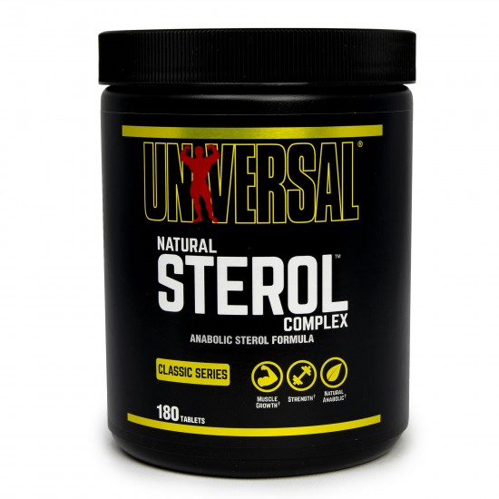 Universal Natural Sterol Complex, 180 cps, Universal Nutrition