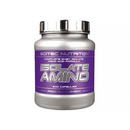 Isolate Amino, 500 capsule, Scitec