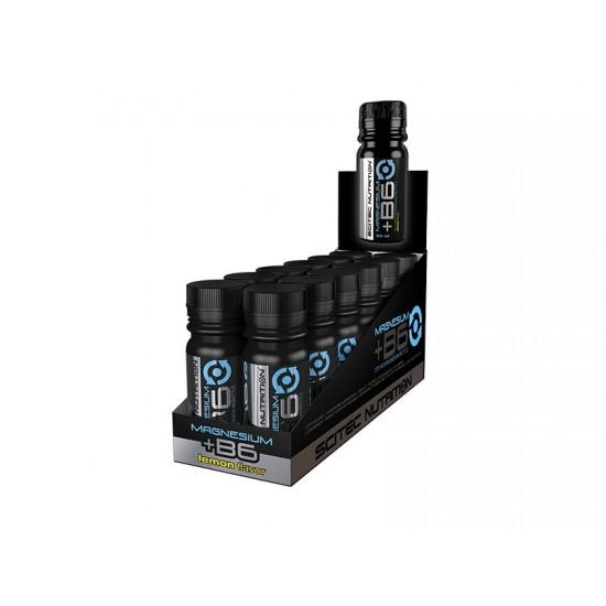 Magnesium + Vitamin B6, 12 fiole, Scitec Nutrition