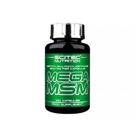 Mega Msm, 100 capsule, Scitec