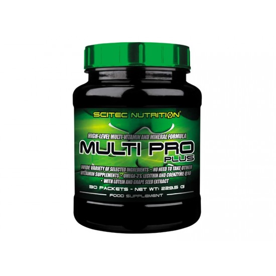 Multi Pro Plus, 30 pachete, Scitec